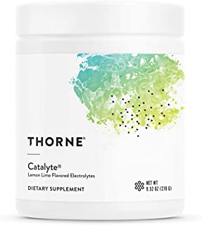 Thorne Research - Catalyte (Lemon LimeFlavored) - Electrolyte Replenishment and Energy Restoration Supplement - No Artifi...