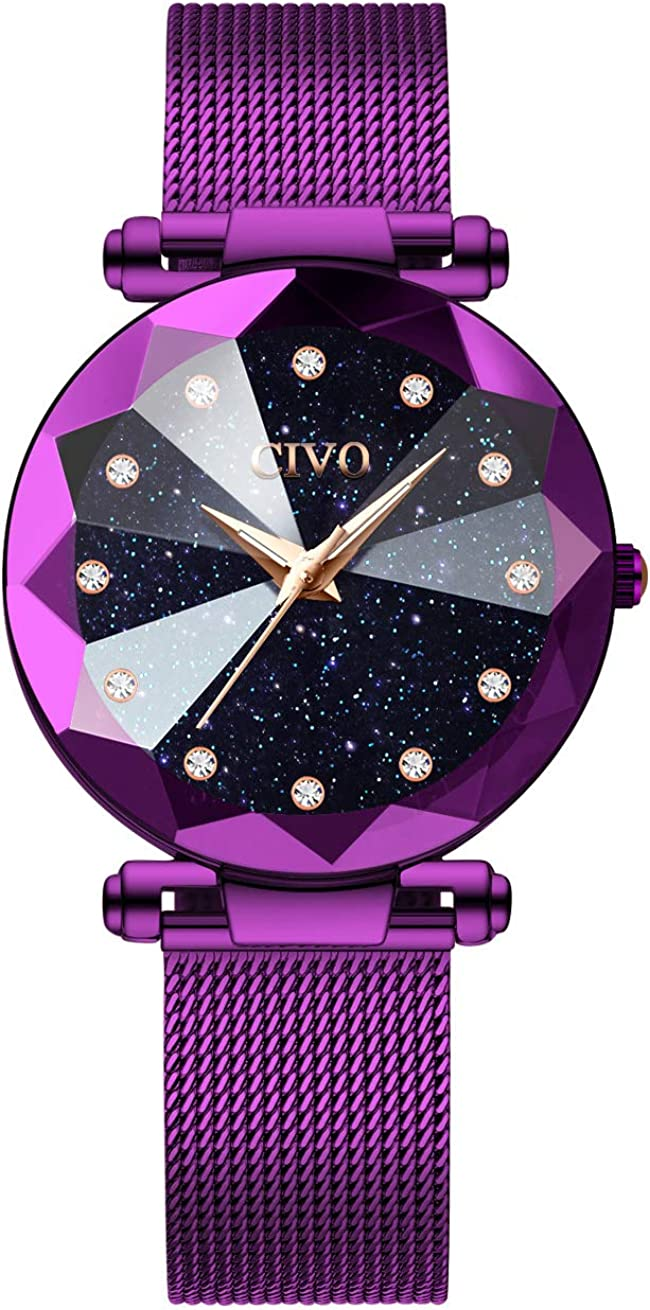 CIVO Women Watches service Ladies Stainless Waterproof Watch Max 51% OFF Steel Luxur