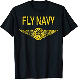 U.S NAVY ORIGINAL FLY NAVY GIFT T-SHIRT