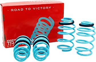 Compatible With/Replacement For Brightt GSP-ACF-963 Traction-S Performance Lowering Springs, Set of 4, fits Camaro 2010-15...