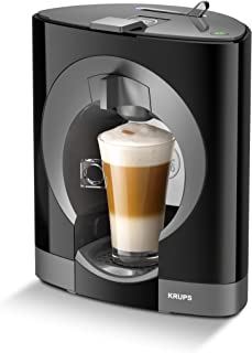 Krups YY2290FD Machine à Café à Capsules Nescafé Dolce Gusto Oblo Noir Manuelle Qualité Professionnelle Pression 15 bars L...