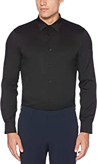 Men's Slim Fit Solid Stretch Dress Shirt