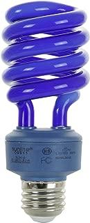 Sunlite SL24/B 24 Watt Spiral Energy Saving Compact Fluorescent CFL Light Bulb (100-Watt Incandescent Equivalent) Medium Base Blue