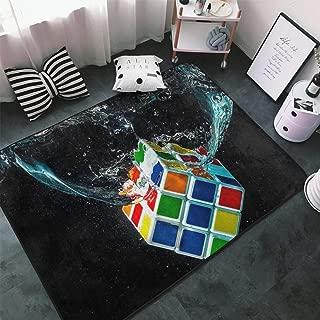 MODREACH Super Ultra Soft Modern Shag Area Rugs, Bedroom Livingroom Sittingroom Floor Rug Carpet Blanket for Children Play Home Decorate (60