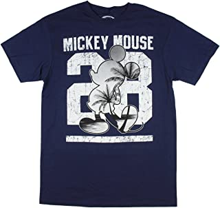 Hybrid Disney Men's Mickey Mouse Palm Trees 28 T-Shirt