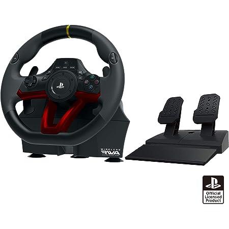 【PS5動作確認済】ワイヤレスレーシングホイールエイペックス for PlayStation®4/PC【SONYライセンス商品】