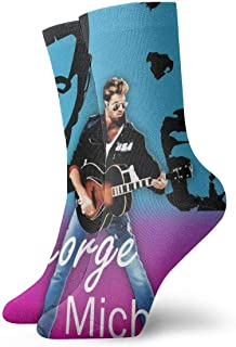 George Michael - Calcetines informales, suaves, transpirables, unisex