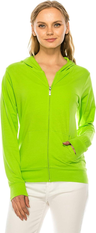 RENESEILLE Women's Hoodie Jacket Sweatshirt famous Indianapolis Mall Casual Zip Up Full -