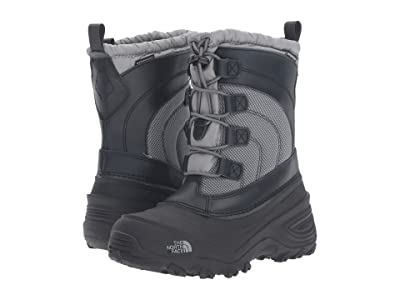 The North Face Kids Alpenglow IV (Toddler/Little Kid/Big Kid) (Griffin Grey/Zinc Grey) Kids Shoes