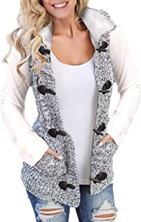 Best cable knit hooded vest Reviews