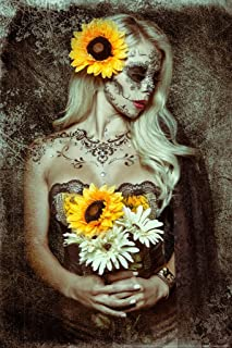 Sunflower by Daveed Benito Cubicle Locker Mini Art Poster 8x12