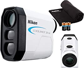 $209 » Nikon COOLSHOT 20 GII Golf Laser Rangefinder Bundle | Includes Carrying Case, PlayBetter Microfiber Towel, Two (2) CR2 Bat...