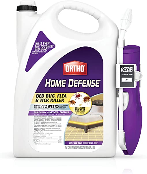 Ortho 0202510 Home Defense Max Bed Bug Flea And Tick Killer 0 5 Gal 1 89L