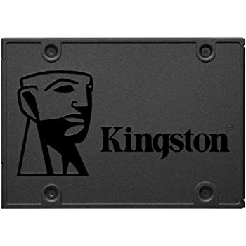 "Kingston 480GB A400 SATA 3 2.5"" Internal SSD SA400S37/480G - HDD Replacement for Increase Performance"