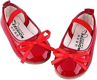 Baby Toddler Girls Dress Ballerina Ballet Flat Shoes Wedding Party Slip-on Mary Jane