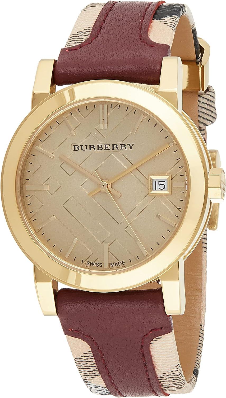 BURBERRY BU9111 - Reloj para Mujeres, Correa de Cuero
