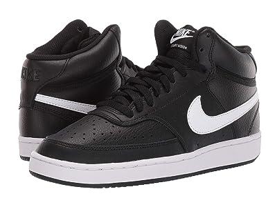 Nike Court Vision Mid (Black/White) Women