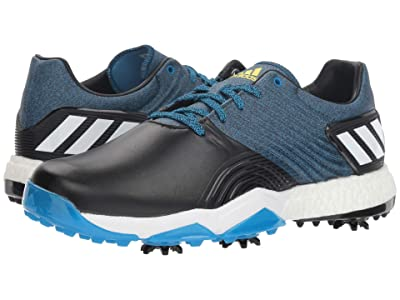 adidas Golf adiPower 4orged Wide (Blue/Black/Shock Yellow) Men