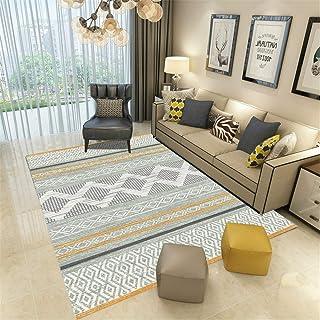 防滑 マット カーペット 撥 水キッチン マット 60 160x200cm 北欧のミニマリストスタイルのカーペットのリビングルームの寝室のベッドサイドの毛布モダンな幾何学的なソファーコーヒーテーブルマットドアマットモダンミニマリスト図1ポリエステル
