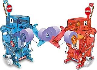 Poraxy Boxing Robot Kit,2 DIY Boxing Fight Robot Battle Toys Assembly STEM Kits,Educational Scientific Robot Building Kit Gift for Children Kids
