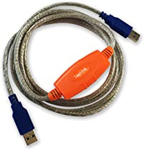 Laplink 6` USB 3.0 SuperSpeed Transfer Cable for PCmover