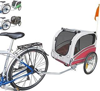 Polironeshop Snoopy - Remolque de bicicleta para el transporte de perros