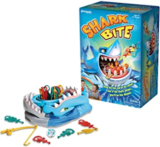 Shark Bite -- Roll the Die and Fish for Colorful Sea Creatures Before the Shark Bites Game! by Pressman