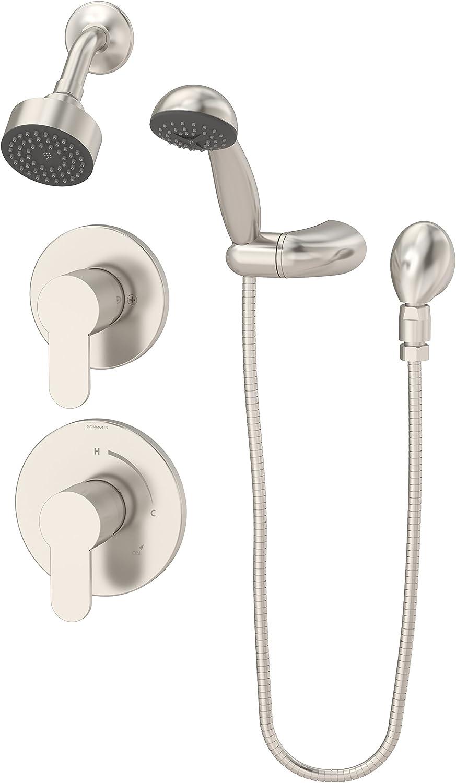 Symmons 6705 1 5 Stn Identity 1 Spray Hand Shower Head Combo Kit Satin Nickel Amazon Com