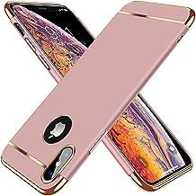 TORRAS Lock Series iPhone X Case, iPhone Xs Case, Thin 3 in 1 Hybrid Hard Plastic Matte Finish Slim Cover Anti-Scratch Phone Case for iPhone Xs/X 5.8