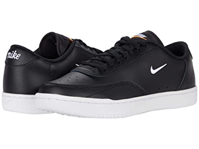 Nike Court Vintage (Black/White/Total Orange) Men