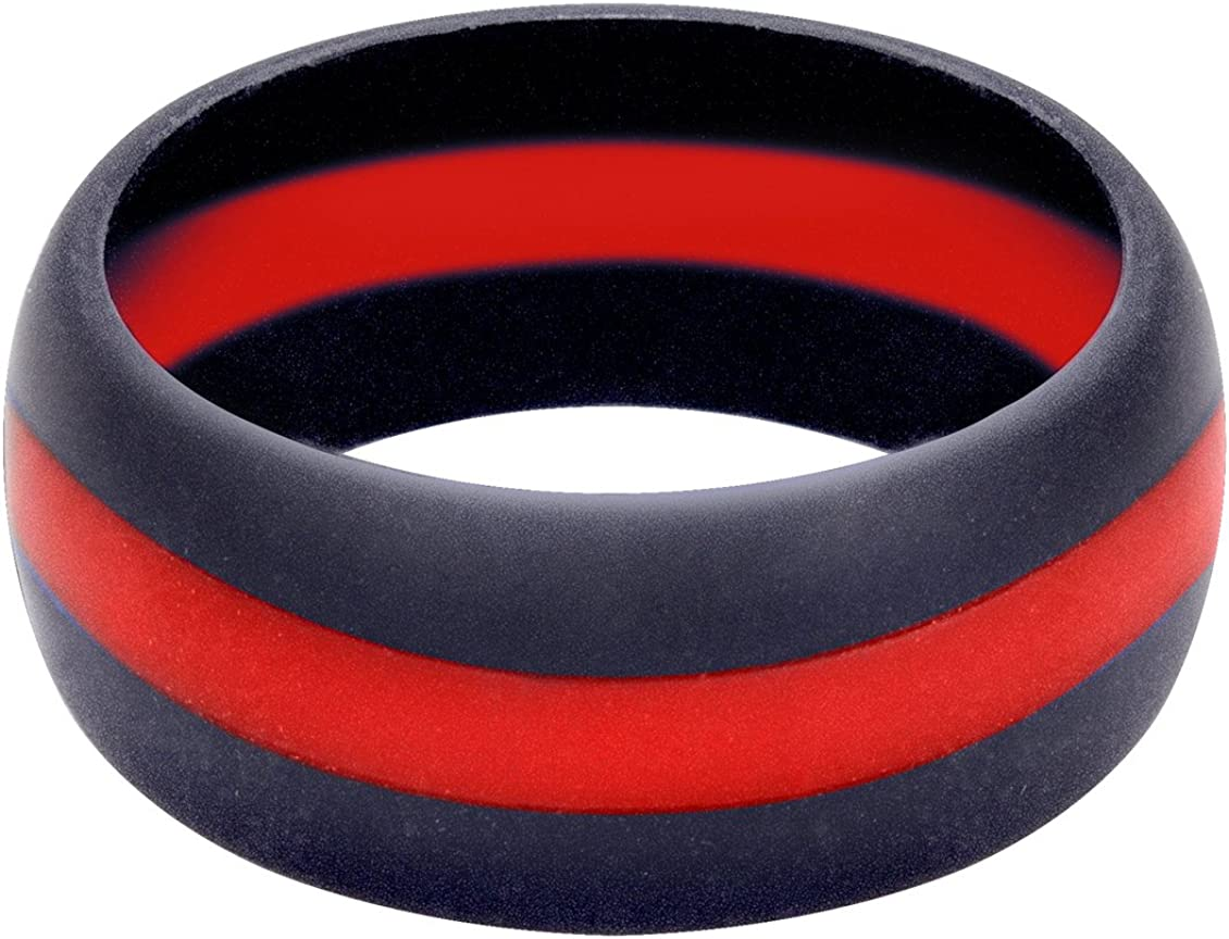 Large-scale sale Omaha Mall Rothco Thin Red Silicone Ring Line