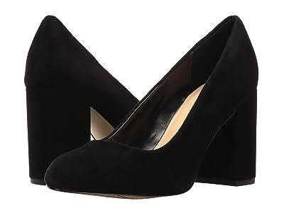 Bella-Vita Nara (Black Kid Suede Leather) High Heels