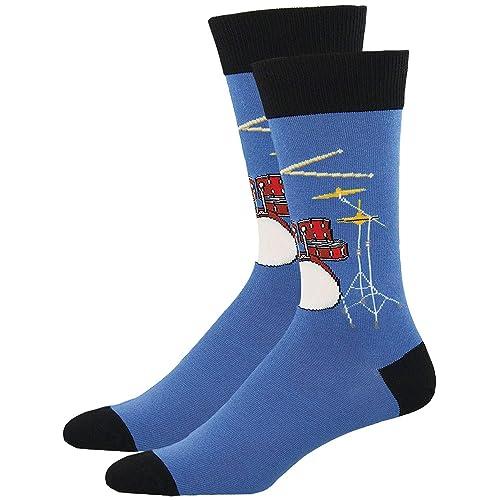 Socksmith Men's Drum Solo Novelty Sock