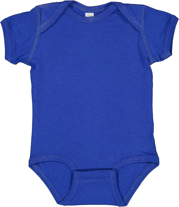 Rabbit Skins Baby Soft Fine Bodysuit Sleeve 4424 Jersey Max 75% OFF Short Colorado Springs Mall