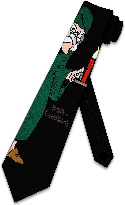 Bah Humbug tie Scrooge mens by Christmas Rooker Time sale Neckties Three Popular standard