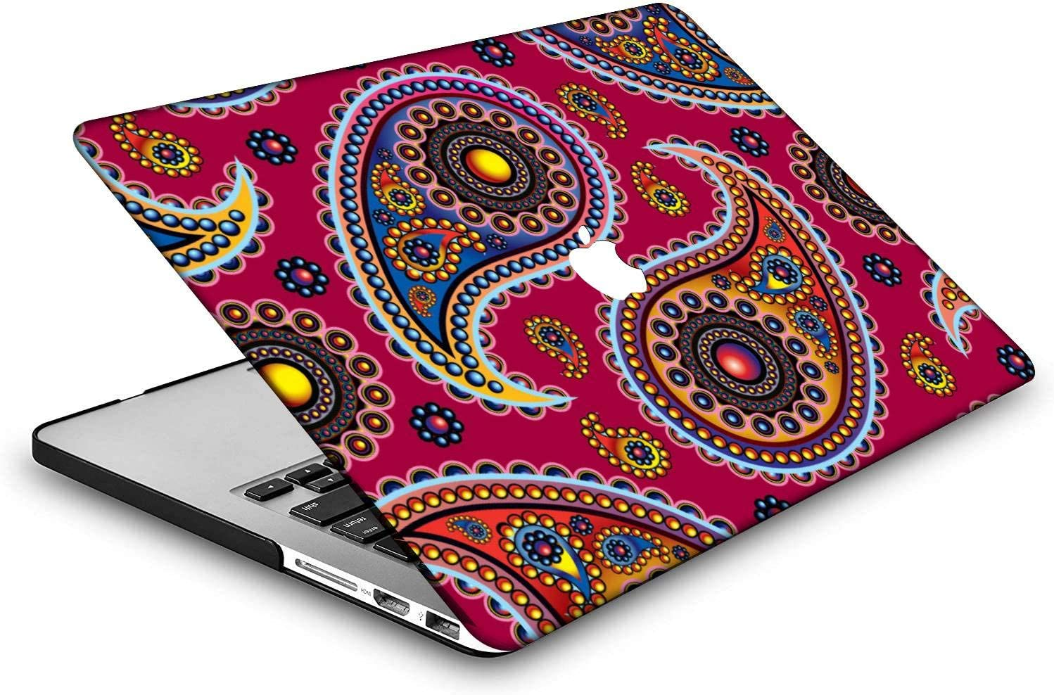 National A 151 Model:A2179//A2337 M1 MingCaiFS Laptop Case for MacBook Air 13 Retina Cut Out Design,Plastic Pattern Ultra Slim Light Hard case Keyboard Cover Touch ID