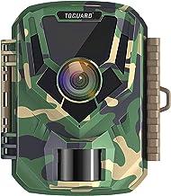 Toguard Mini-wildcamera, Full HD, 16 MP, 1080 pixels, jachtcamera met IR-nachtzicht, 2 inch lcd-scherm, brede hoek van 120...