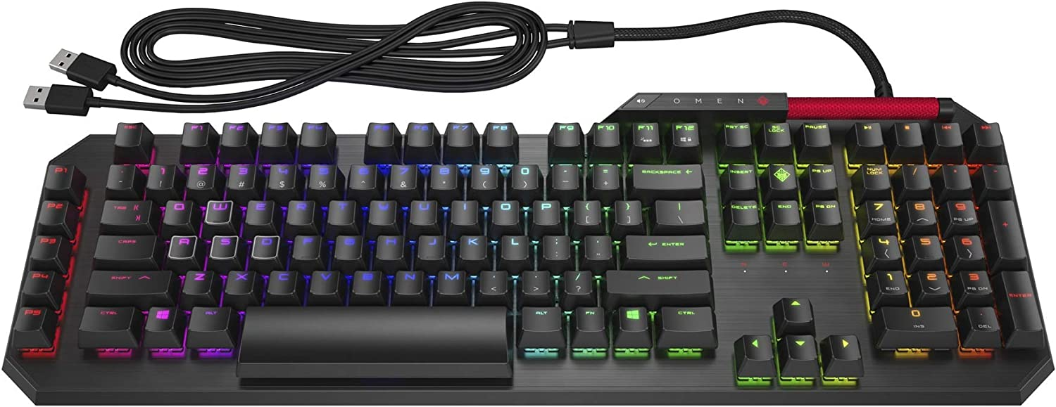 Omen by Hp Sequencer Wired USB Mechanical Optical Gaming Keyboard - 2VN99AA#ABU