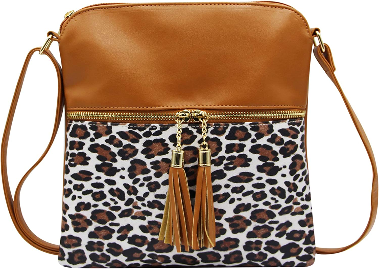 RARITYUS Women Faux Super special price Suede Crossbody Weave Max 57% OFF Bag Fringe Ta Shoulder