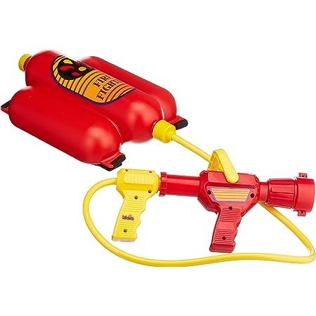 Theo Klein 8932 Fire Fighter Henry Feuerwehrspritze I Mit Wasserspritzfunktion Und 2 Liter Tank I Tragbar