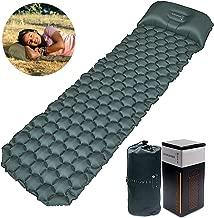 Sunflower Musk Inflatable Sleeping Pad w/Adjustable Pillow - Camping Sleeping pad (Long) - Ultralight Camp Pad for Backpacking - Hiking Sleep mat