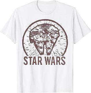 Star Wars Millennium Falcon Distressed Pocket T-Shirt