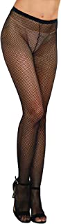 Women's Fishnet Pantyhose with Back Seam