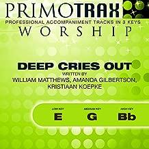 Deep Cries Out (Worship Primotrax) [Performance Tracks] - EP