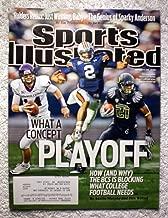 Cam Newton (Auburn Tigers), Andy Dalton (TCU Horned Frogs) & LaMichael James (Oregon Ducks) - College Football needs a BCS Playoff - Sports Illustrated - November 15, 2010 - SI