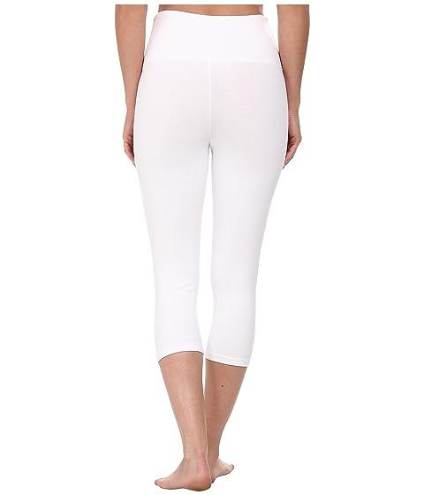 Capri blanco algodón Talia Yummie Legging formando nf5q0X7wF