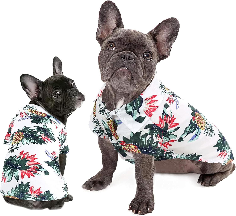 Dasior Pet Summer T-Shirt Colorful Breeze famous Sales for sale Beac Apparel Hawaiian