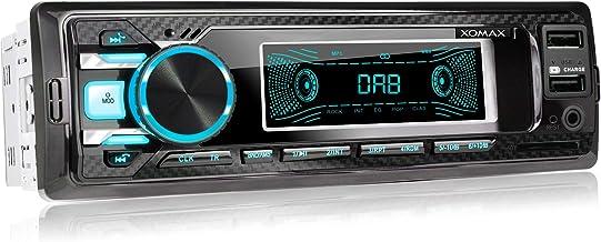 XOMAX XM-RD269 Autoradio mit integriertem DAB+ Tuner, FM RDS, Bluetooth..
