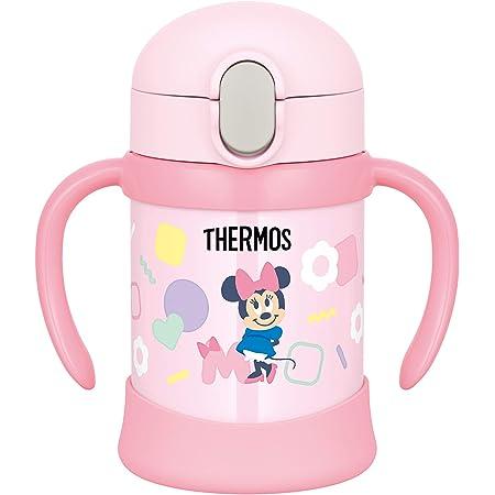 サーモス(THERMOS) まほうびんのベビーストローマグ FJL-250DS ピンク (P) ミニー 250ml ピンク(ミニー) 1個 (x 1)