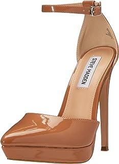 Steve Madden VAIDA CAMEL PATENT Women's Heeled Sandal